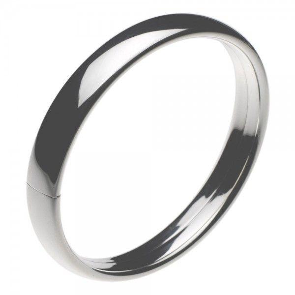 Slaven armband van zilver met klemsluiting. Breedte 10 mm, leverbaar in 3 verschillende maten, ook voor dikke polsen.