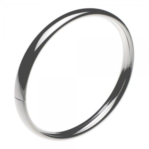 Slaven armband met klemsluiting. Breedte 7 mm, leverbaar in 3 verschillende maten, ook voor dikke polsen.