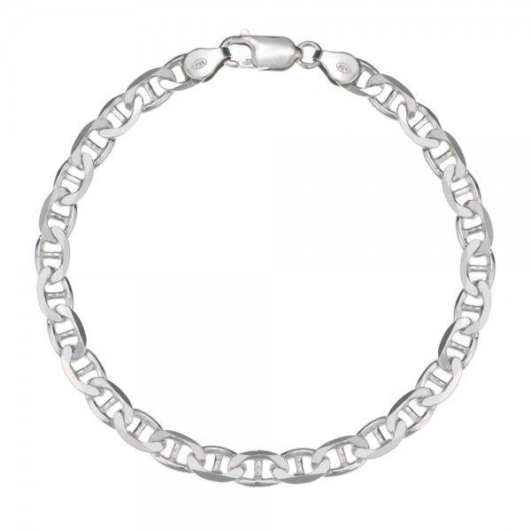 Zilveren gucci armband van 6 mm breed in iedere gewenste lengte leverbaar!