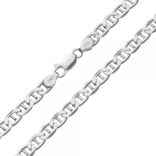 Zilveren gucci ketting van 6 mm breed in iedere gewenste lengte leverbaar!