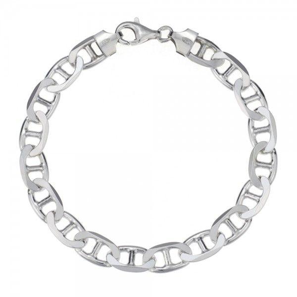 Zilveren gucci armband van 8 mm breed in iedere gewenste lengte leverbaar!