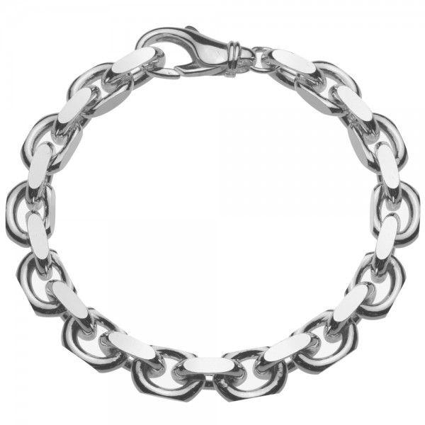 Grof model zilveren anker armband van 8,5 mm breed. Elke lengte is leverbaar.