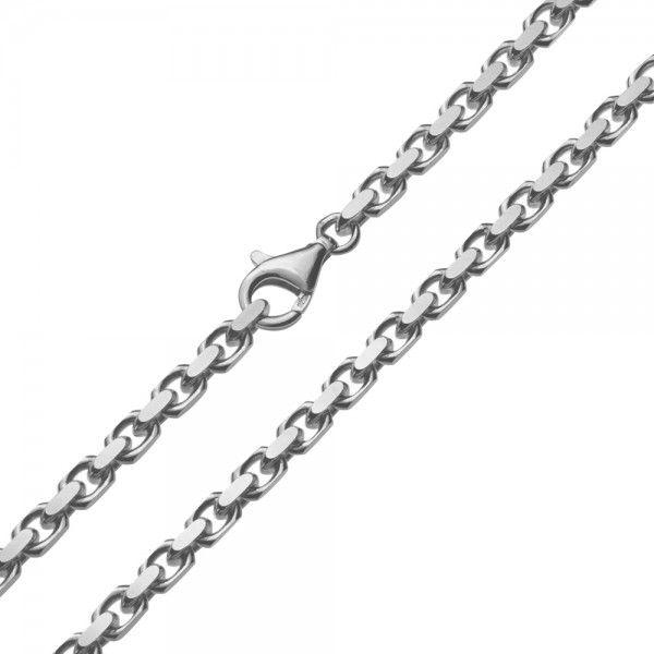 Grof model zilveren anker ketting van 4,5 mm breed. Elke lengte is leverbaar.